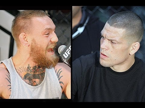 watch  Conor McGregor & Nate Diaz Explode press conference kodi