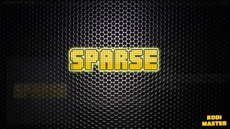 INSTALL THE SPARSE 2 BUILD FROM KODI MASTER WIZARD – XBMC/KODI ~