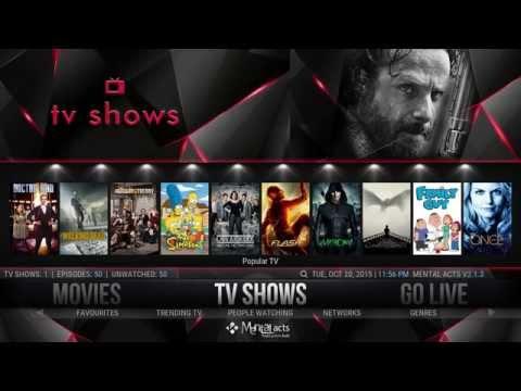 INSTALL SPINZ TV – THE MENTAL CASE WIZARD ON XBMC/KODI ~