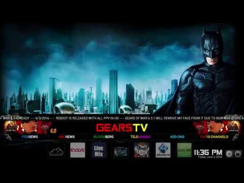 KODI – GEARS OF WAR BUILD IS BACK BETTER THAN EVER!!!   (JoeNobody010101)