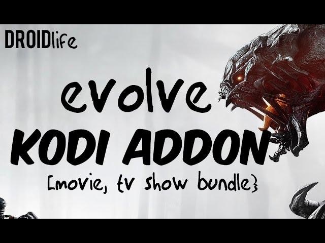 EVOLVE BEST KODI XBMC ADDON BUNDLE 2016 – IPTV, MOVIES, TV