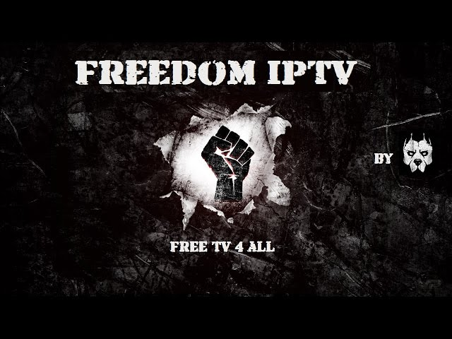 How To Install FREEDOM IPTV Addon On Kodi