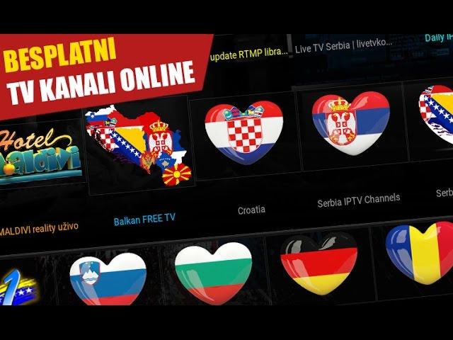 Live TV Serbia addon / Besplatno gledanje EXYU, Balkan IPTV