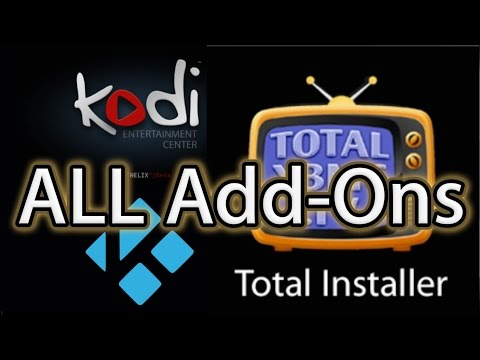 Install Every Add-on Available on KODI XBMC TotalXBMC.tv Total Installer Total Revolution