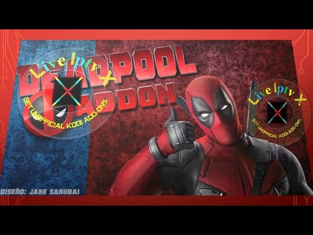Video on Demand, Spanish IPTV With Deadpool Addon For
