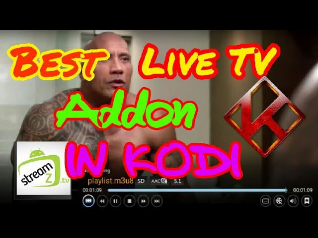 THE BEST FREE LIVE TV ADDON..
