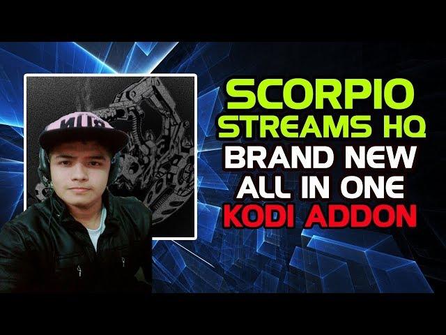 Como instalar Scorpio Streams HQ Kodi Addon IPTV ,