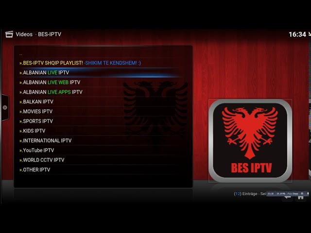 Albanisches iptv addon kodi fernsehen auch deutsche