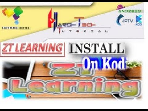 AMEGING ZT LEARNING ADDONS  INSTALL TO KODI ADDON FOR WATCH