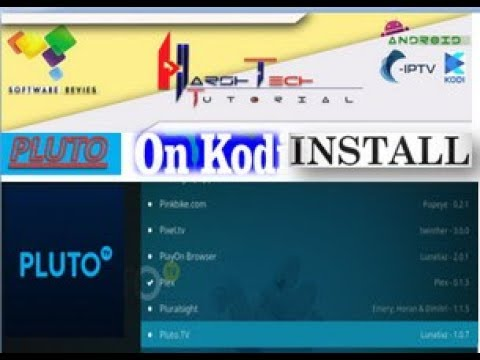 NEW PLUTO ADDONS INSTALL TO KODI ADDON FOR WATCH CABLE IPTV