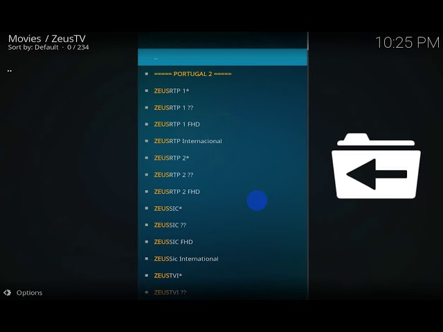 [Review] Zeus TV Kodi Addon | IPTV kodi addon