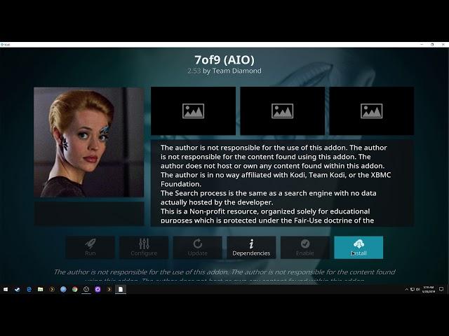 How To Install 7of9 (AIO) Kodi Addon
