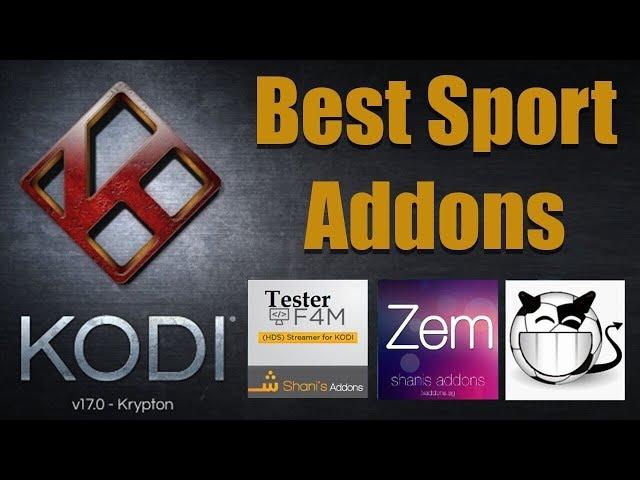 Kodi top sports addons