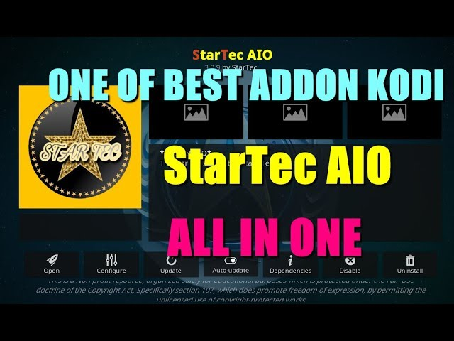 NEW UPDATE STARTEC AIO ADDON KODI 2019 _ REVIEW