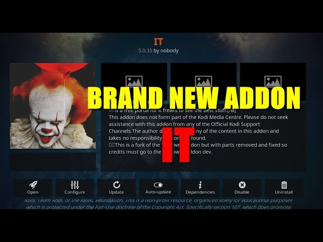 BRAND NEW IT ADDON 2019 – REVIEW