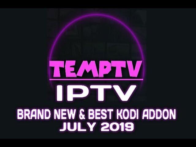 TempTV Kodi Addon Review and Install Guide | New IPTV Kodi