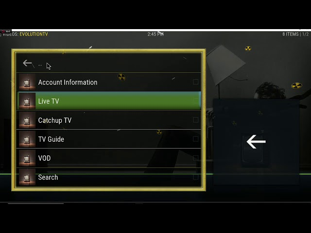 evolution iptv addon