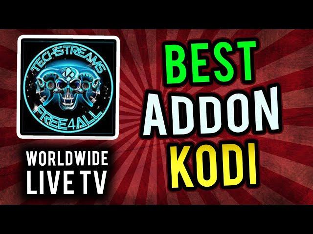 Best Kodi ADDON // FREE WORLDWIDE LIVE TV (September 2019)