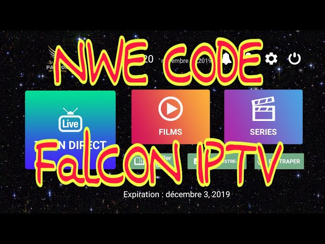 FALCON IPTV WITH BEST CODE ACTIVATION ALL CHANNEL