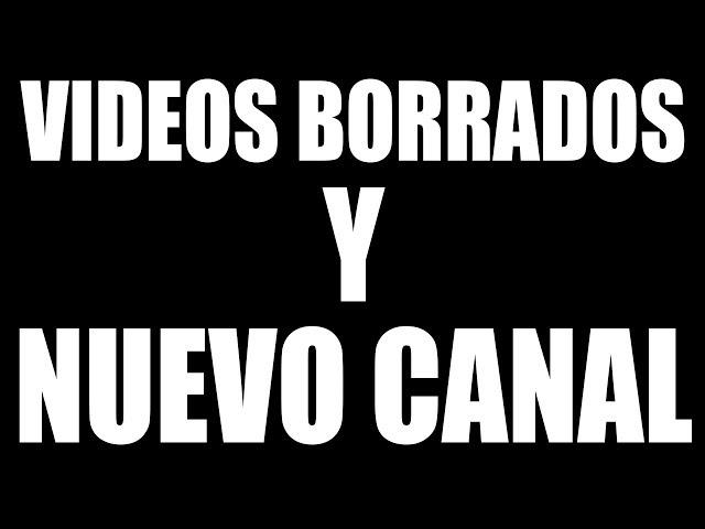 LATINO KODI VIDEOS BORRADOS Y NUEVO CANAL
