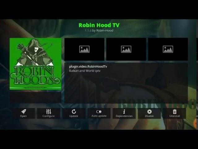 💥💥💥💥KODI  ROBIN HOOD Addon IPTV FREE GRATUIT