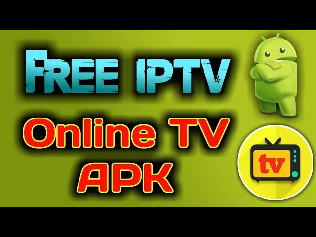 Free iptv- Online TV apk