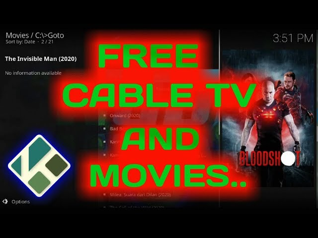 How to watch Cable TV & Movies for free on Kodi 18 6