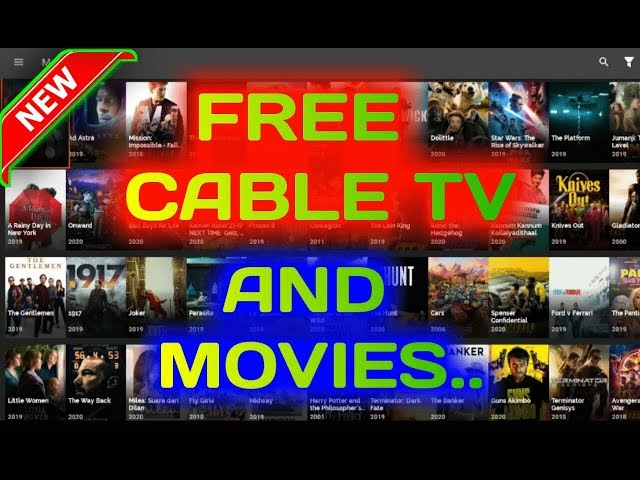 Watch Free cable tv and movies..