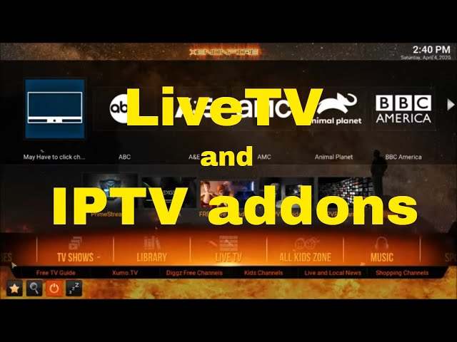 A look at LiveTV and IPTV addons