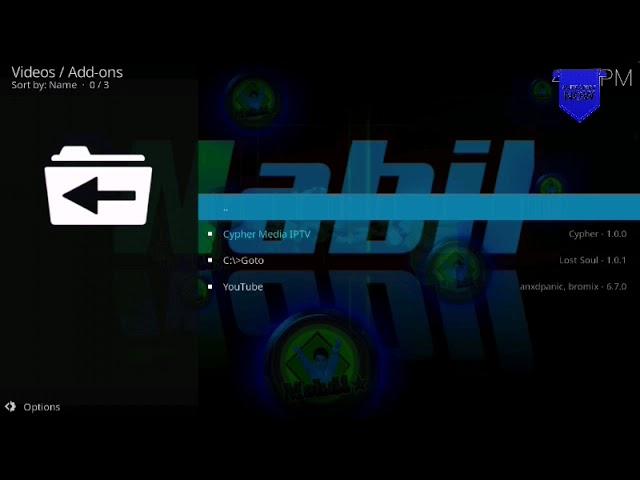 FREE IPTV – Cypher Media iptv addon on kodi 18.5