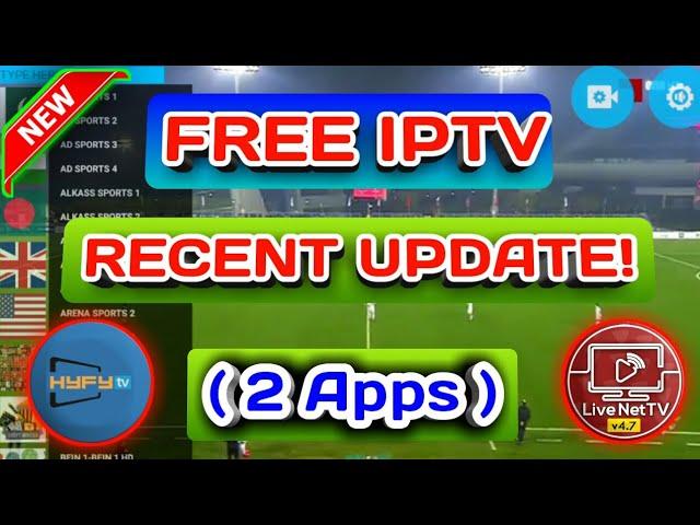 Free iptv – Live Net TV & HYFY TV New update..