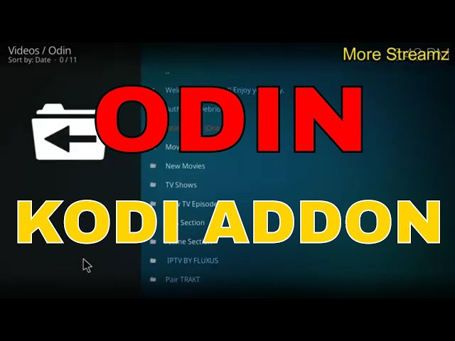 HOW TO INSTALL AND USE ODIN KODI ADDON (MOVIES TV SHOWS,