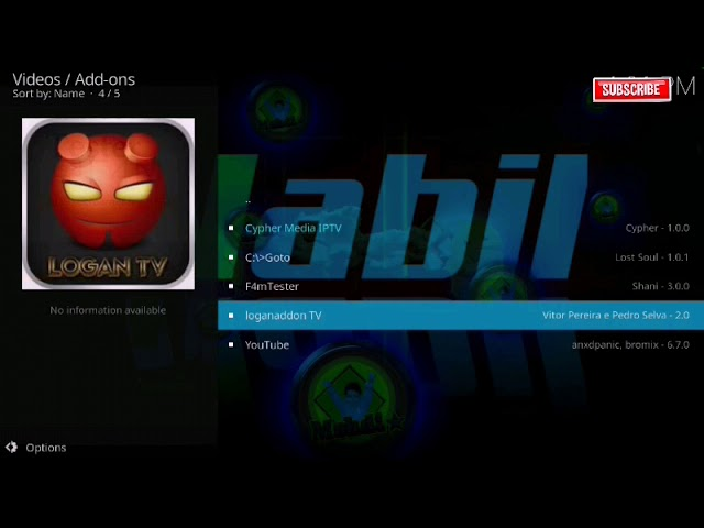 How to install logan tv addon on Kodi 18.6