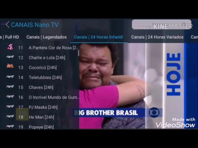 IPTV P2P ANT TRAVAMENTO NANO + SENHA GRÁTIS TV BOX OU