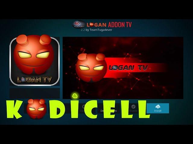 Logan Addon Tv on Kodi,How To Install Logan TV Addon on
