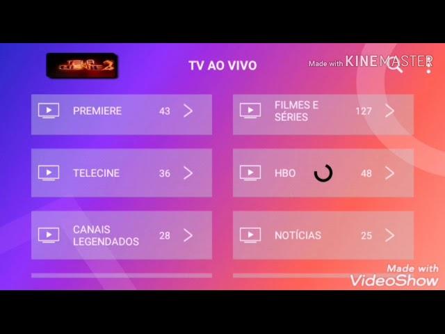TOP IPTV NOVO App COM SENHA GRÁTIS TV BOX OU CELULAR