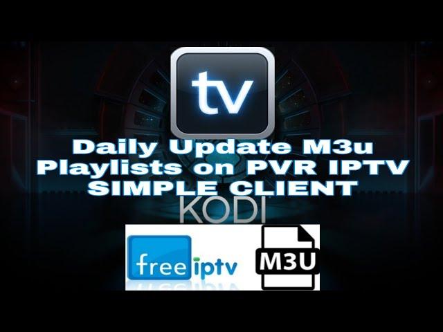 M3u Updated Sport Channels Playlists / PVR IPTV SIMPLE