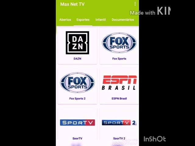 IPTV APP DE TV ONLINE COM VÁRIEDADES DE CANAIS