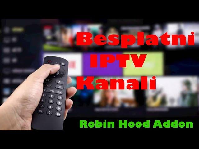 Robin Hood Addon – Instalacija |IPTV Balkan|