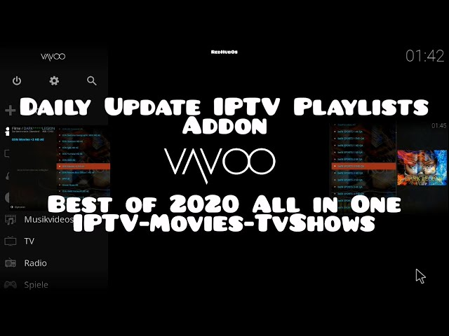 Top  IPTV Addon On VAVOO / Best All in One Plugin / Free