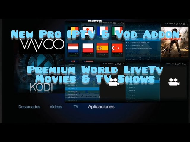 All in One Kodi & Vavoo Addon / Free World Premium Channels