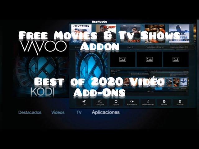 New Updated Kodi & Vavoo Video Addon / Free Movies &