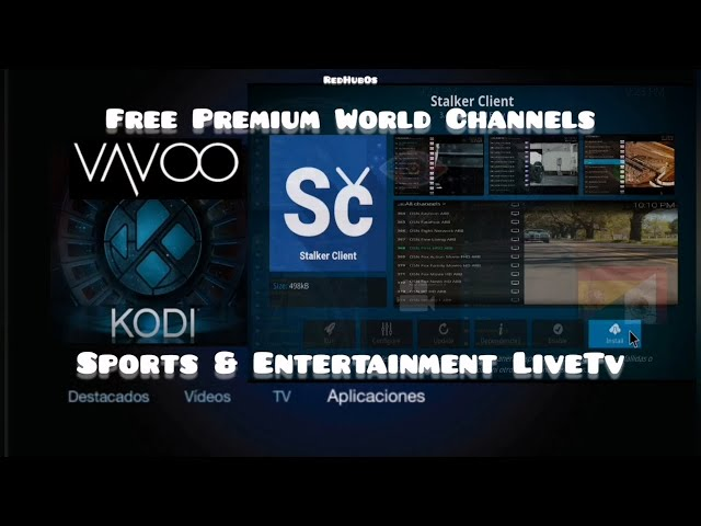 Updated STB Codes On The Best Kodi & Vavoo Tv Addon/Free