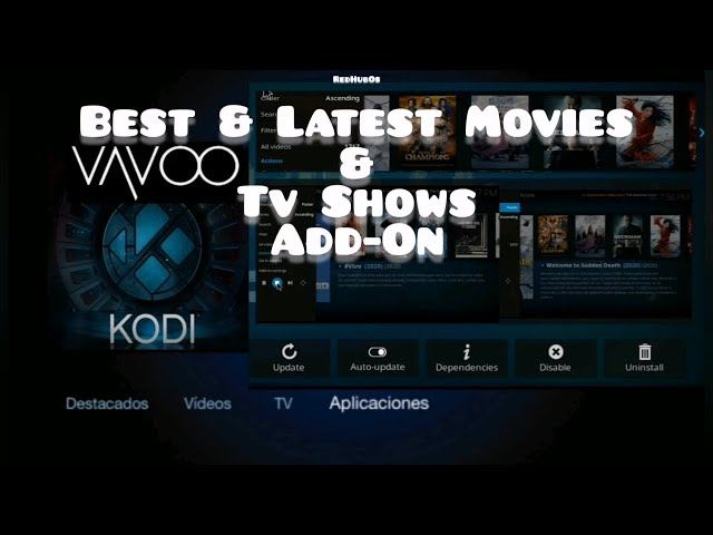 Watch The Latest Movies & TvShows / Free Kodi & Vavoo Video